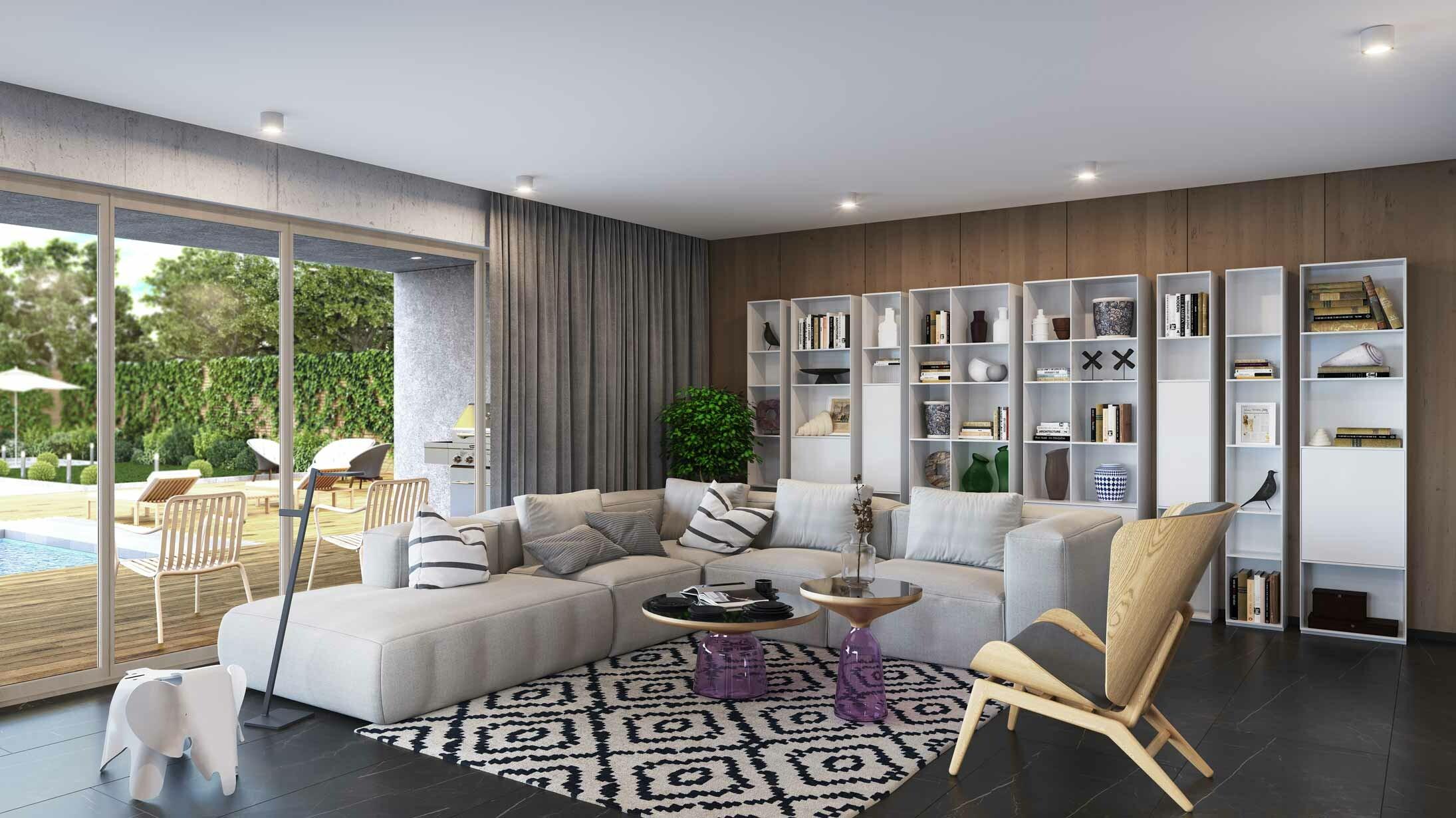 Das Wohnzimmer – Ideen und Beispiele für Ihre Einrichtung!  cairo.de