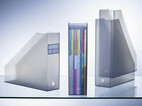 Stehsammler 4er-Set, transparent-weiß