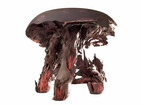Hocker Gravity Stool schwarz/rot