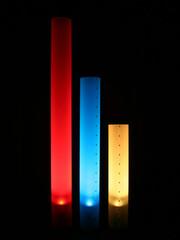 Chameledeon LED Höhe 70 cm | transluzent