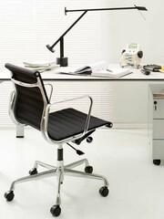 Bürodrehsessel Alu-Chair Stoff   schwarz
