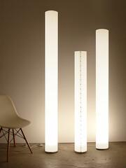 Stehleuchte Chameledeon White Höhe 170 cm | transluzent