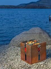 Feuerstelle Fidibus