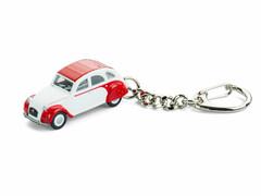 Schlüsselanhänger Citroën 2 CV DOLLY mit Garage