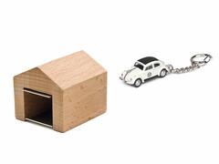 Schlüsselanhänger VW-Käfer Ralley mit Garage