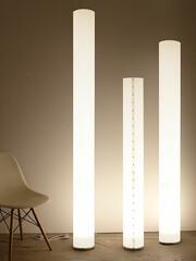Stehleuchte Chameledeon White LED 140 cm   weiß