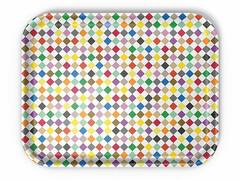 Tablett Classic Tray Diamond 46 x 36 cm   bunt