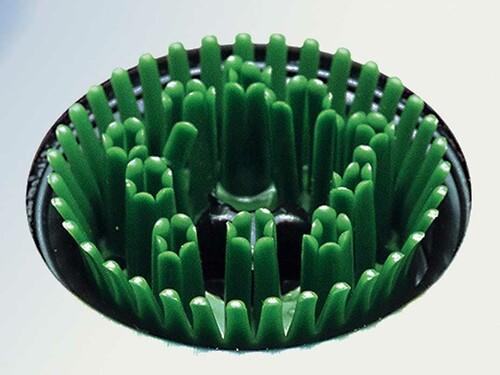 Fußmatte Feet-Back 96 Kunststoffbürsten, grün