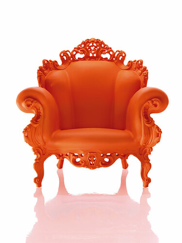 Sessel Proust orange