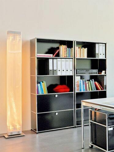 usm regal von usm haller usm b rom bel sofort lieferbar. Black Bedroom Furniture Sets. Home Design Ideas