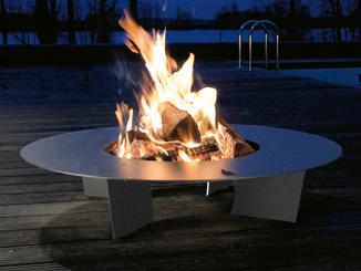 Feuerstelle Fireplate