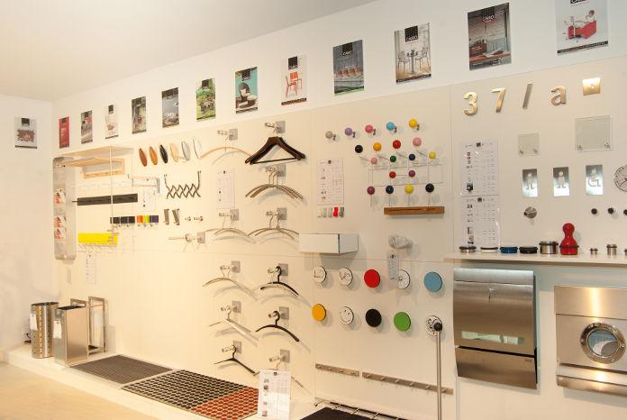 Garderoben im Cairo Designstore Nürnberg